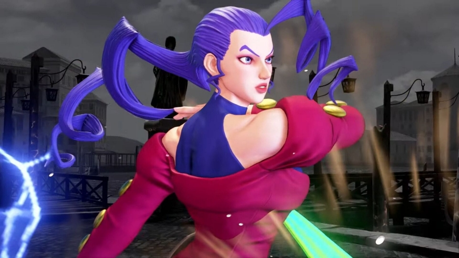 Rose from Street Fighter