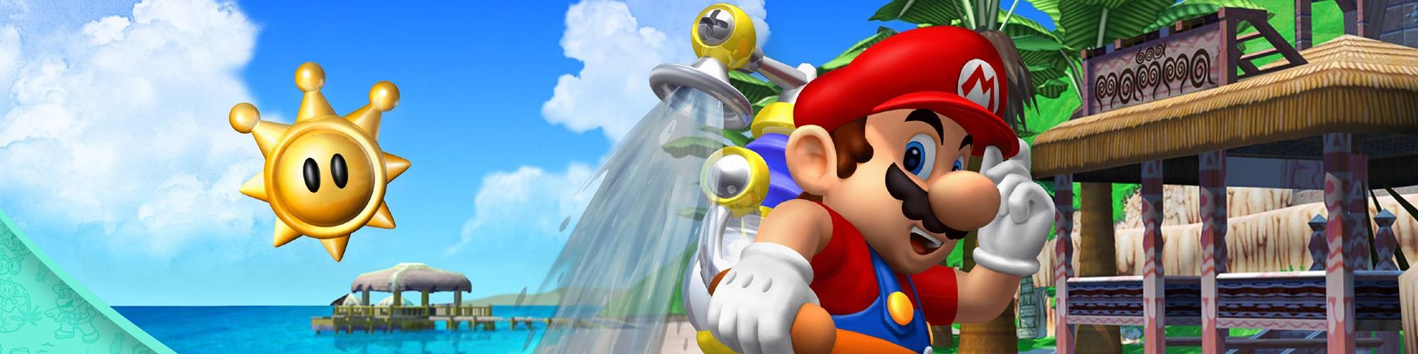 Super Mario Sunshine Hero Banner