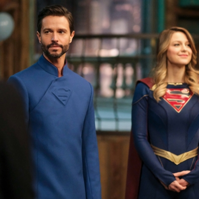 Supergirl Jason Behr on Kara and Zor-Els return to National City climate change
