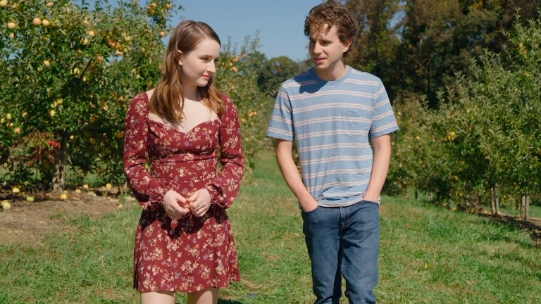 Ben Platt and Kaitlyn Dever in Dear Evan Hansen Ending