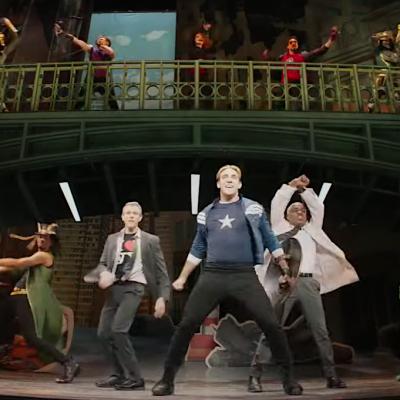 Captain America the Musical in Hawkeye