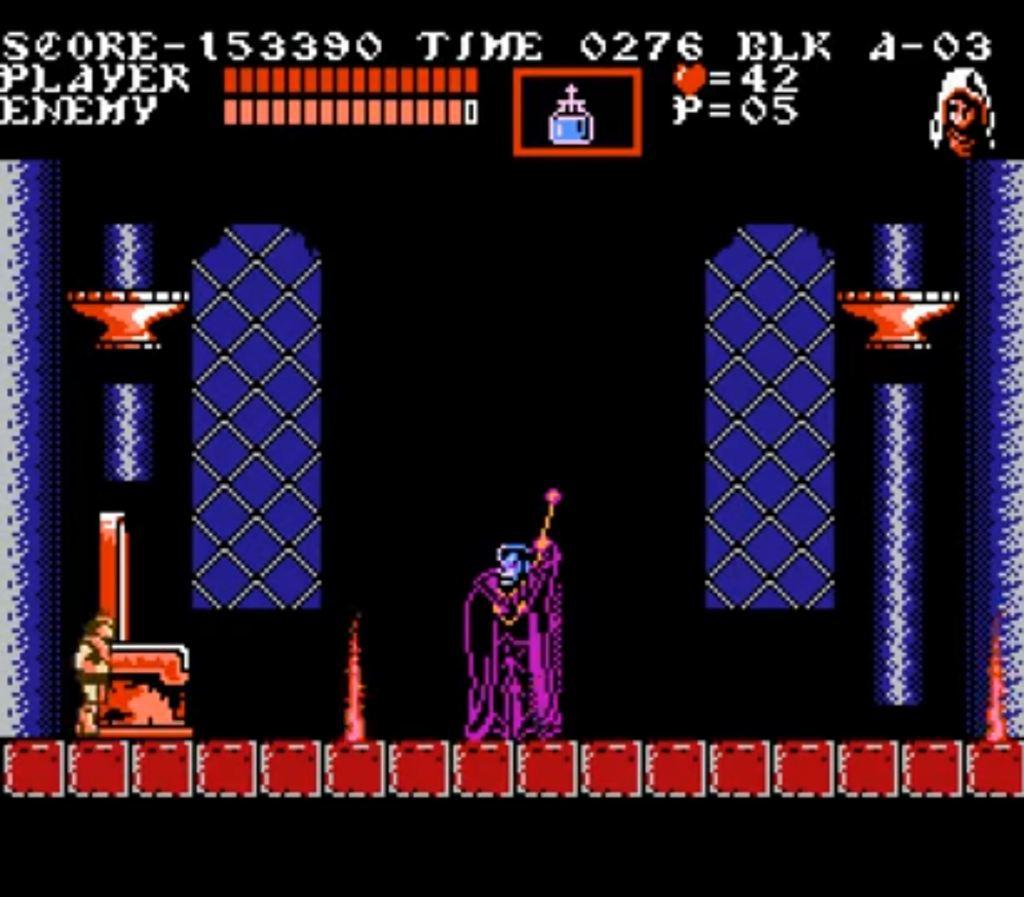 Castlevania III: Dracula's Curse NES