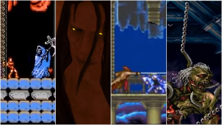 Castlevania Monsters and Bosses