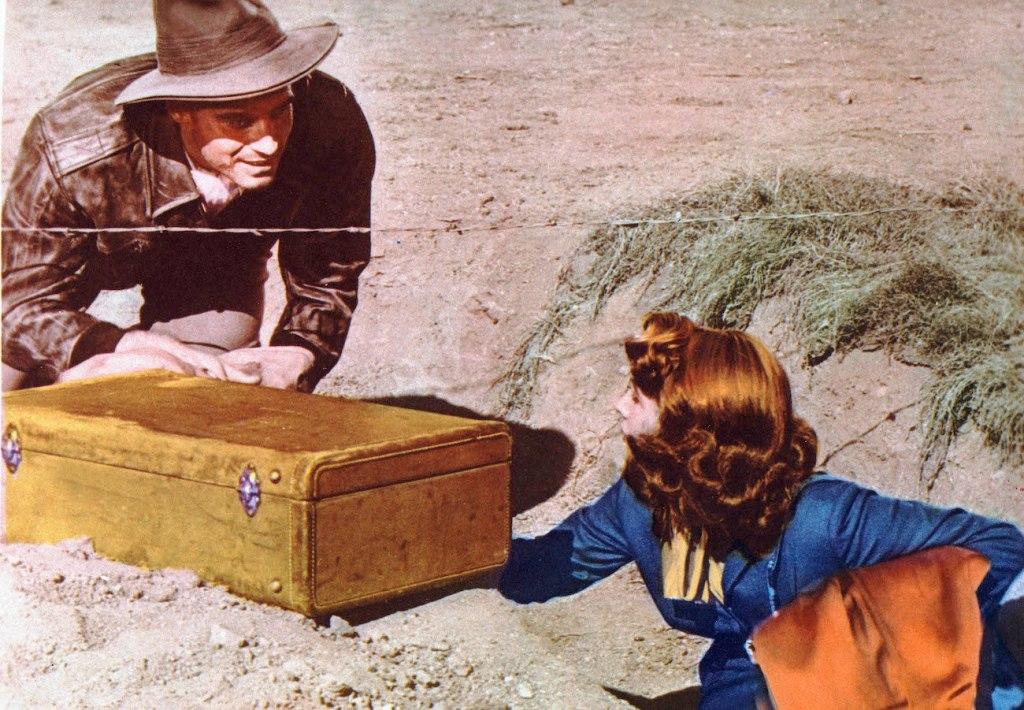 Charlton Heston in Secret of the INcas