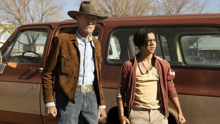 Clint Eastwood and Eduardo Minett in Cry Macho
