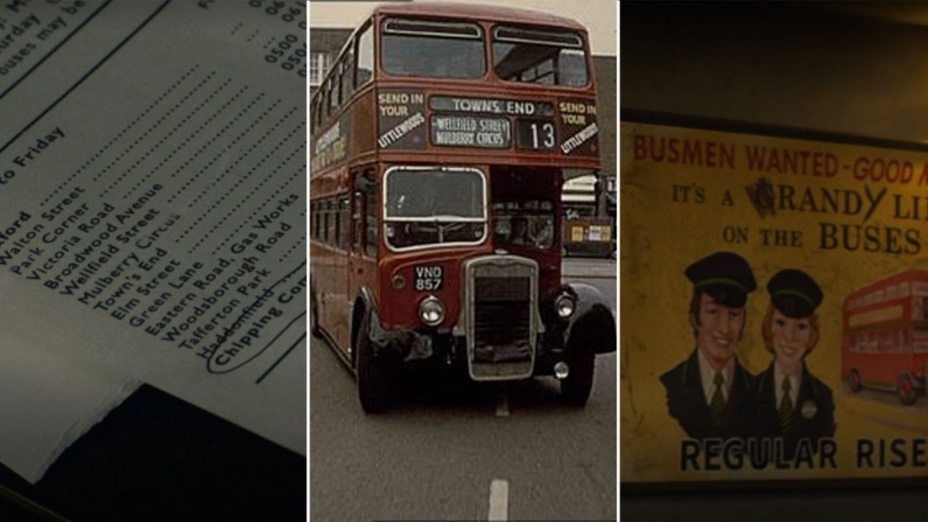 Endeavour Terminus On the Buses asiente