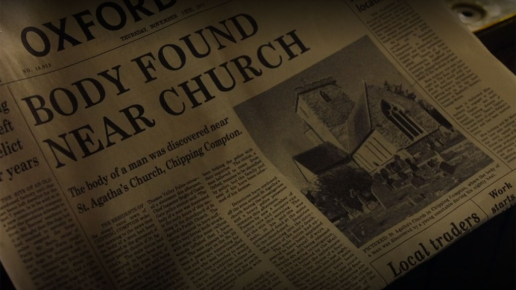 Artículo de periódico Endeavour Terminus