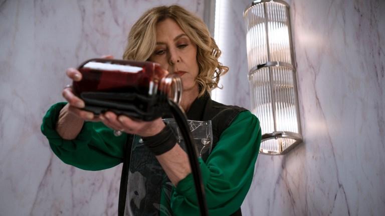 Christine Lahti as Sheryl in Evil season w