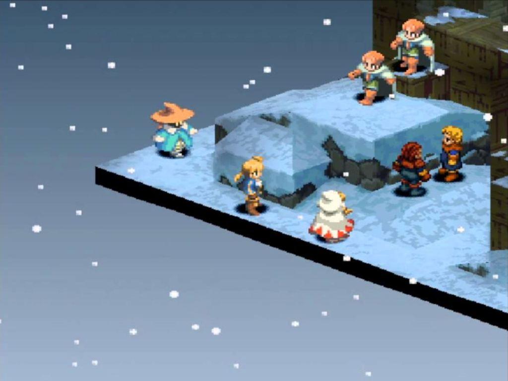 Final Fantasy Tactics PS1 RPG