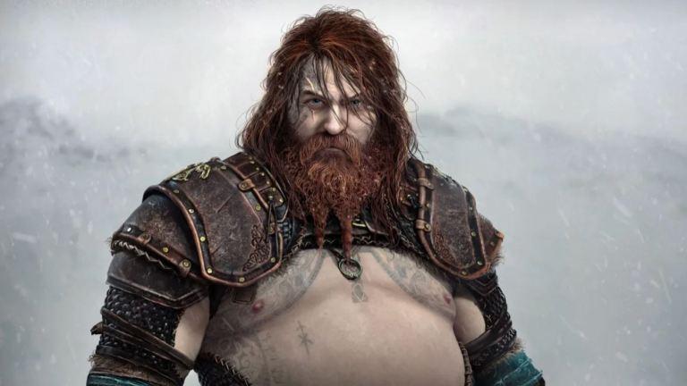 God of War Ragnarok Thor Design