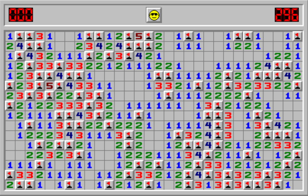 Minesweeper PC game