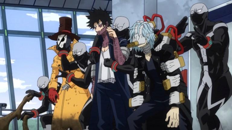 My Hero Academia Season 5 Episode 22 Twice Clones Team