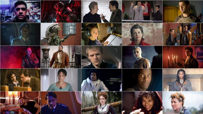 Previous Doctor Who guest stars