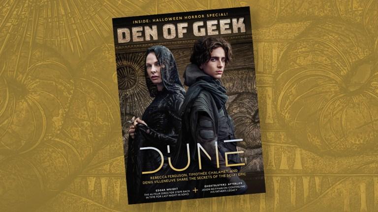 Q3 Magazine Cover Dune