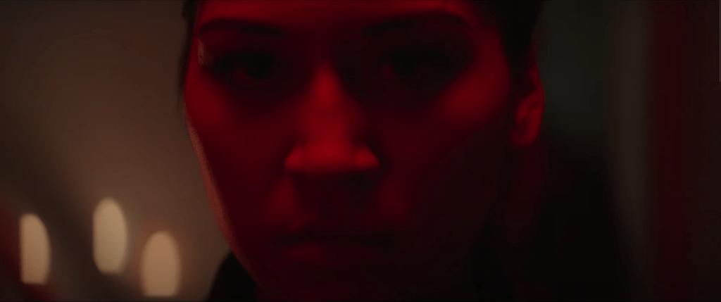 Alacqua Cox as Maya Lopez/Echo in Marvel's Hawkeye Trailer