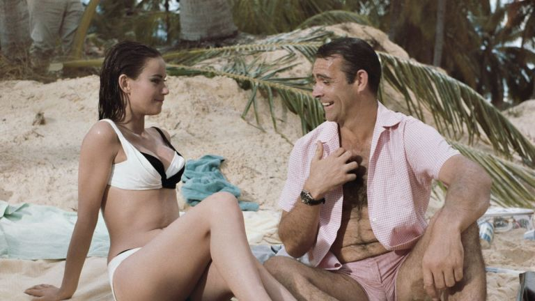 Sean Connery and Claudine Auger in Thunderball