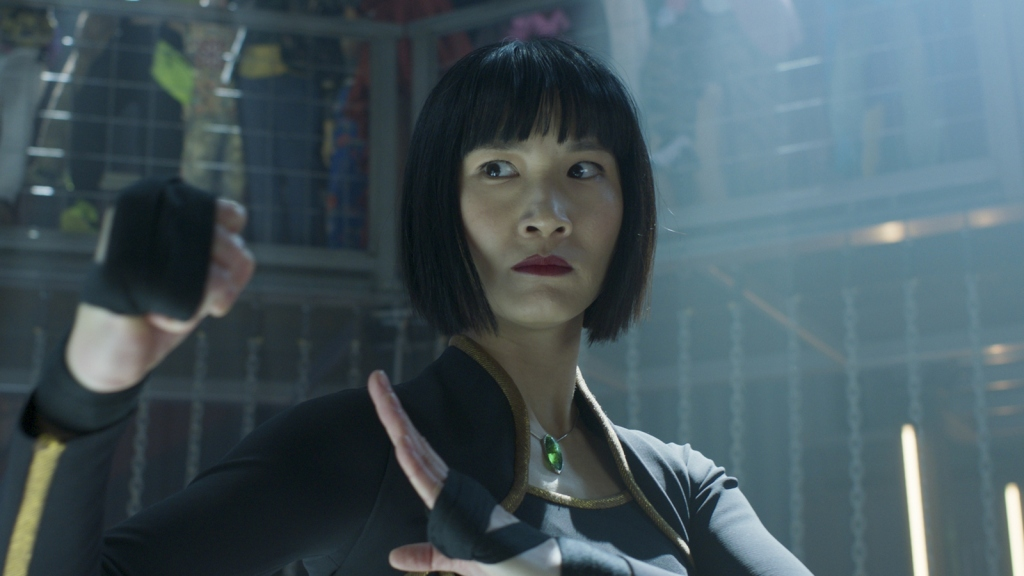 Meng'er Zhang in Marvel's Shang-Chi and the Legend of the Ten Rings