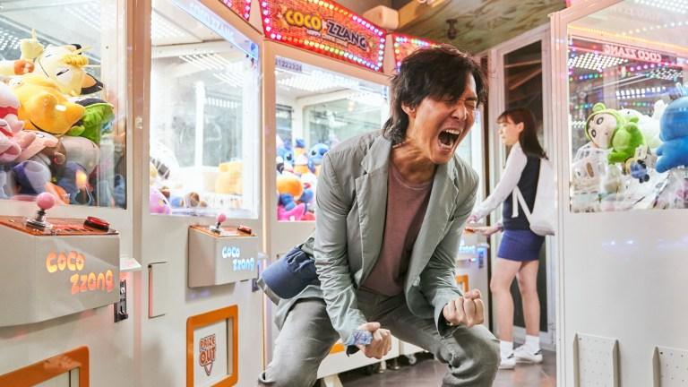 Gi-hun screams in Netflix's Squid Game