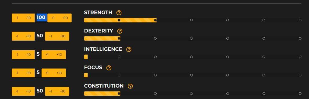 New World Melee DPS Stats Build (Dexterity)