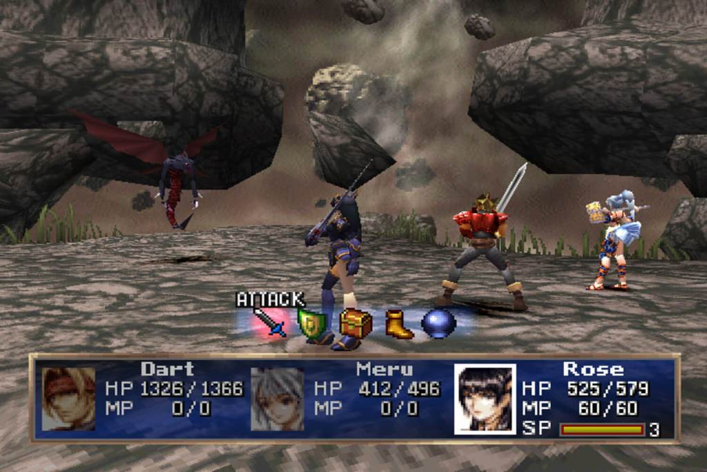 The Legend of Dragoon PS1 RPG