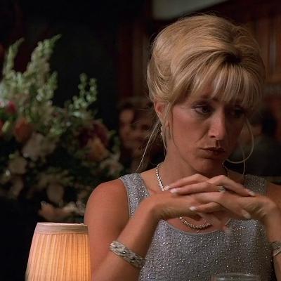 Edie Falco as Carmela Soprano