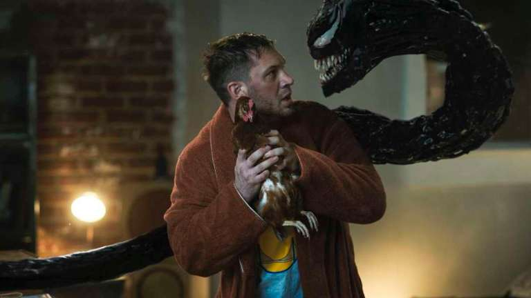 Tom Hardy in Venom Let There Be Carnage Ending