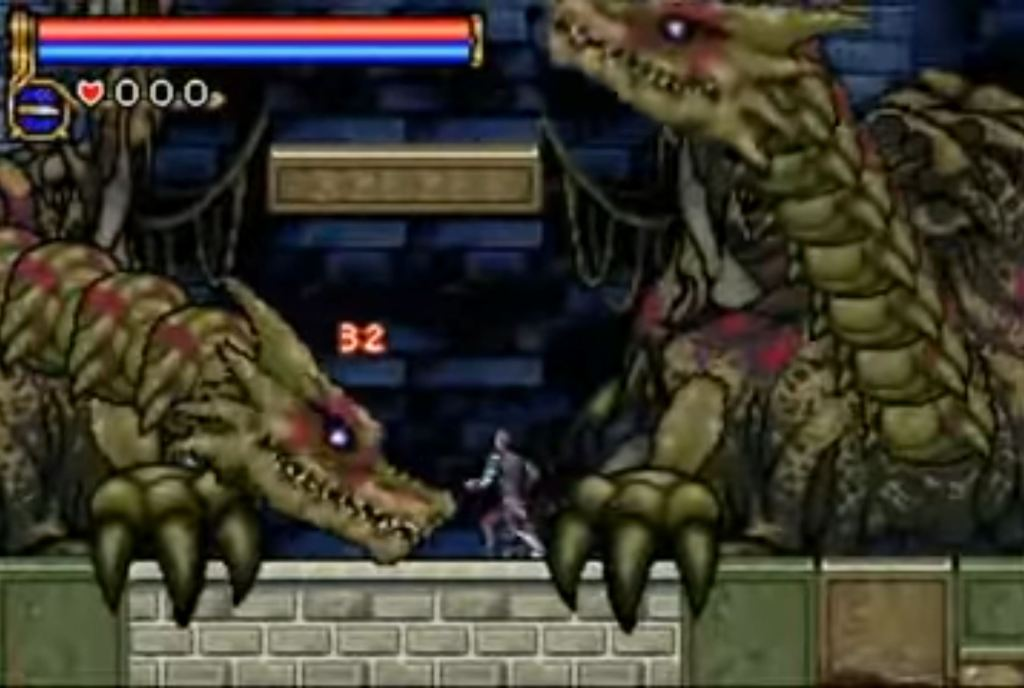 Dragon Zombies- Castlevania: Circle of the Moon