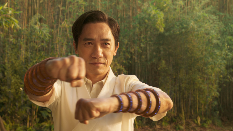 Tony Leung as Wenwu in Shang-Chi
