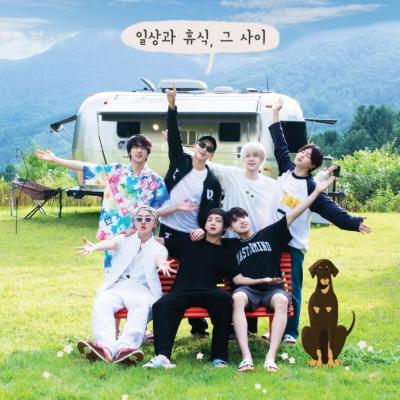 The seven members of BTS in the Soop
