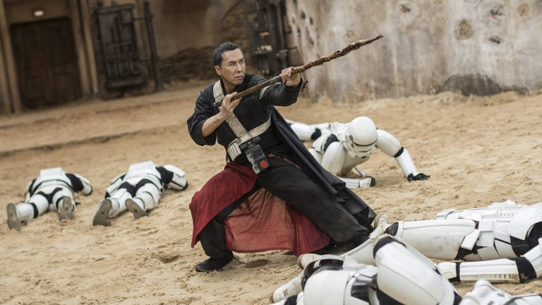 Donnie Yen as Chirrut Îmwe in Rogue One