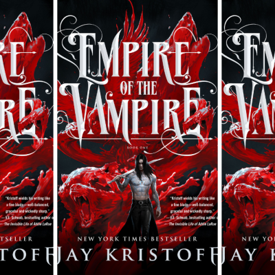 The cover for Empire of the Vampire by Jay Kristoff