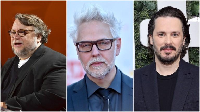 Guillermo del Toro, James Gunn, Edgar Wright