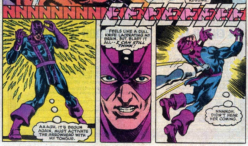 Hawkeye loses his hearing in Marvel Comics