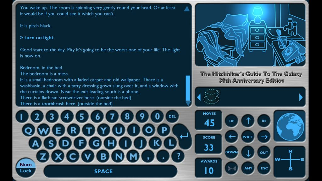 Hitchhiker's Guide To The Galaxy PC game