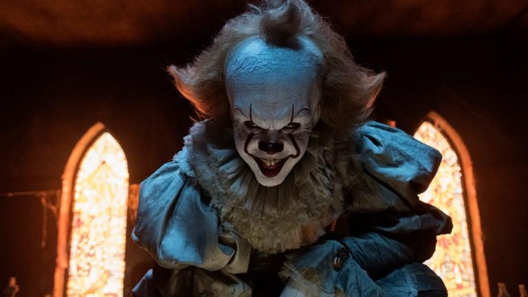 It; Bill Skarsgard as Pennywise.