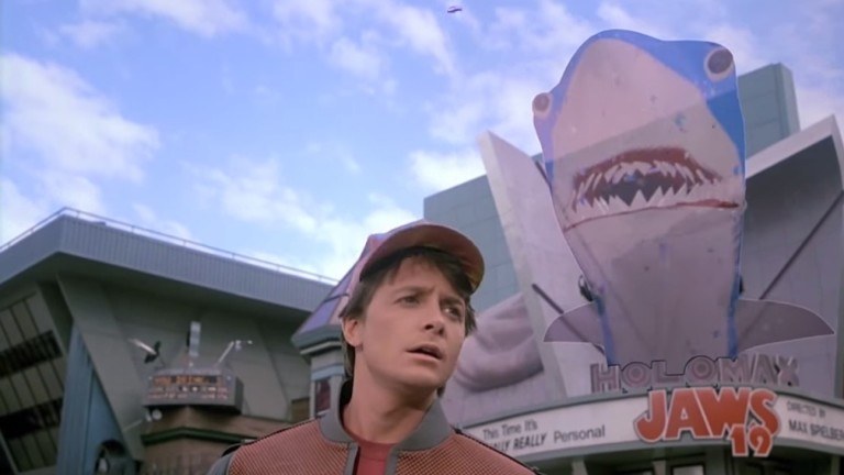 Jaws from Back to the Future 2