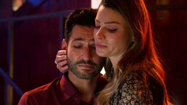 Tom Ellis and Lauren German in the Lucifer Season 6 Series Finale