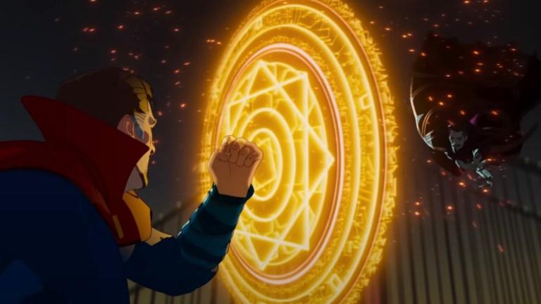 Dr. Strange vs. Dr. Strange from What If...?