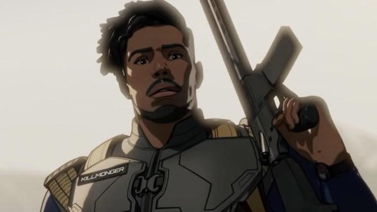 Killmonger from Marvel's What If...?
