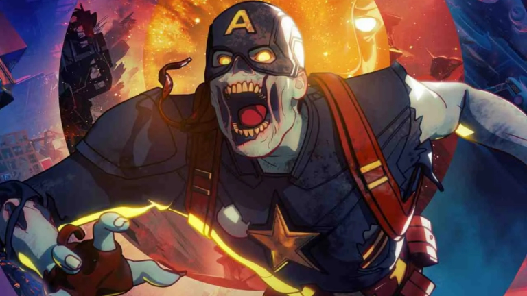 Zombie Captain America from What If...?