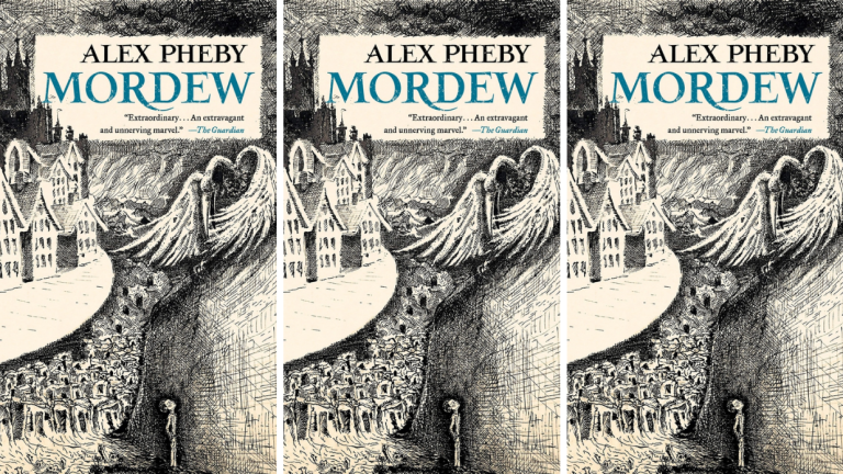 The cover for Alex Pheby's Mordew