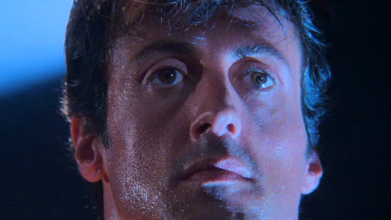 Sylvester Stallone in Rocky IV.