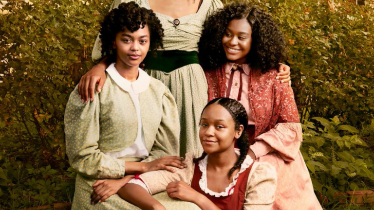 Three sisters on the cover of So Many Beginnings