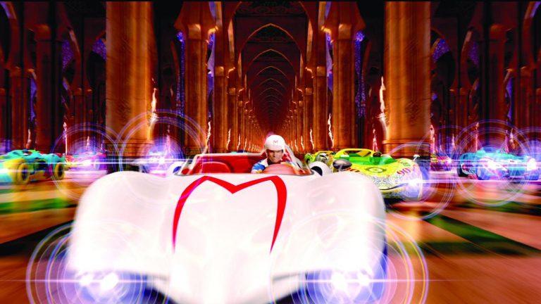 Speed Racer movie race scene