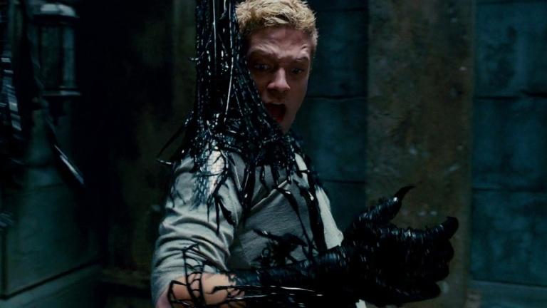Topher Grace as Eddie Brock/Venom in Spider-Man 3.