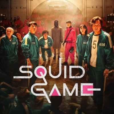 The cast of Squid Game on Netflix