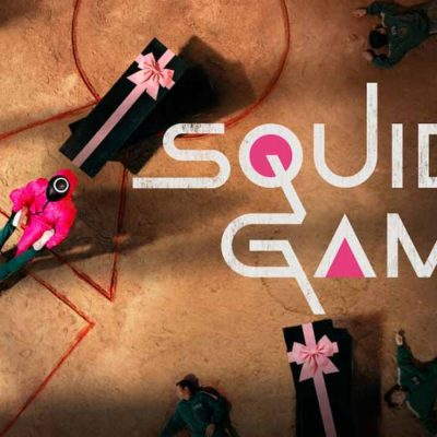 The poster for Squid Game