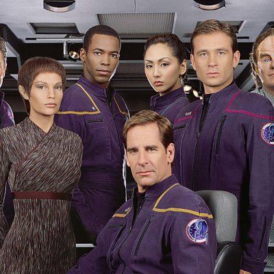 The cast of Star Trek: Enterprise