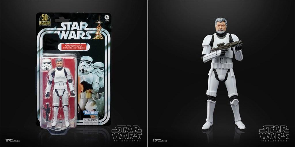 Star Wars: The Black Series George Lucas (in Stormtrooper Disguise).