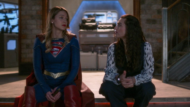 Supergirl: Kara and Lena Finally Reunite